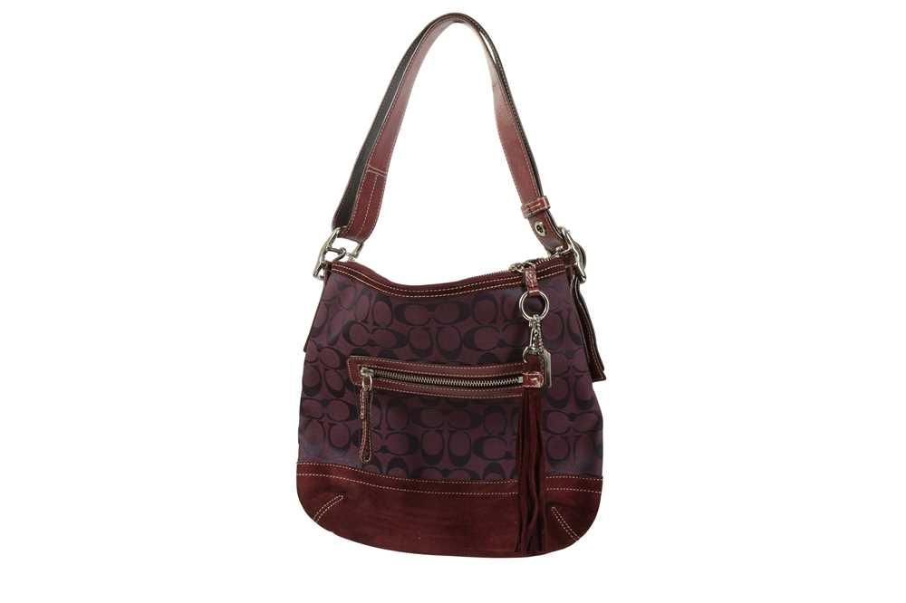 Coach Purple Shoulder Bag and Pollini Black Crossbody Bag - Image 4 of 6