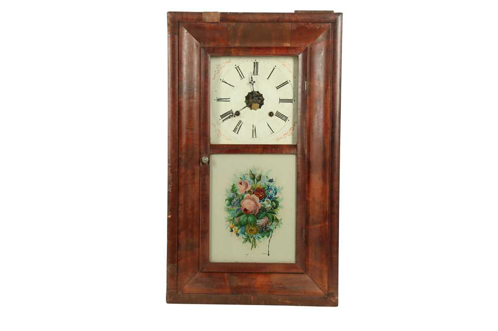 CLOCKS: AN AMERICAN WALL CLOCK BY THE ANSON BRASS AND COPPER COMPANY, LATE 19TH/EARLY 20TH CENTURY