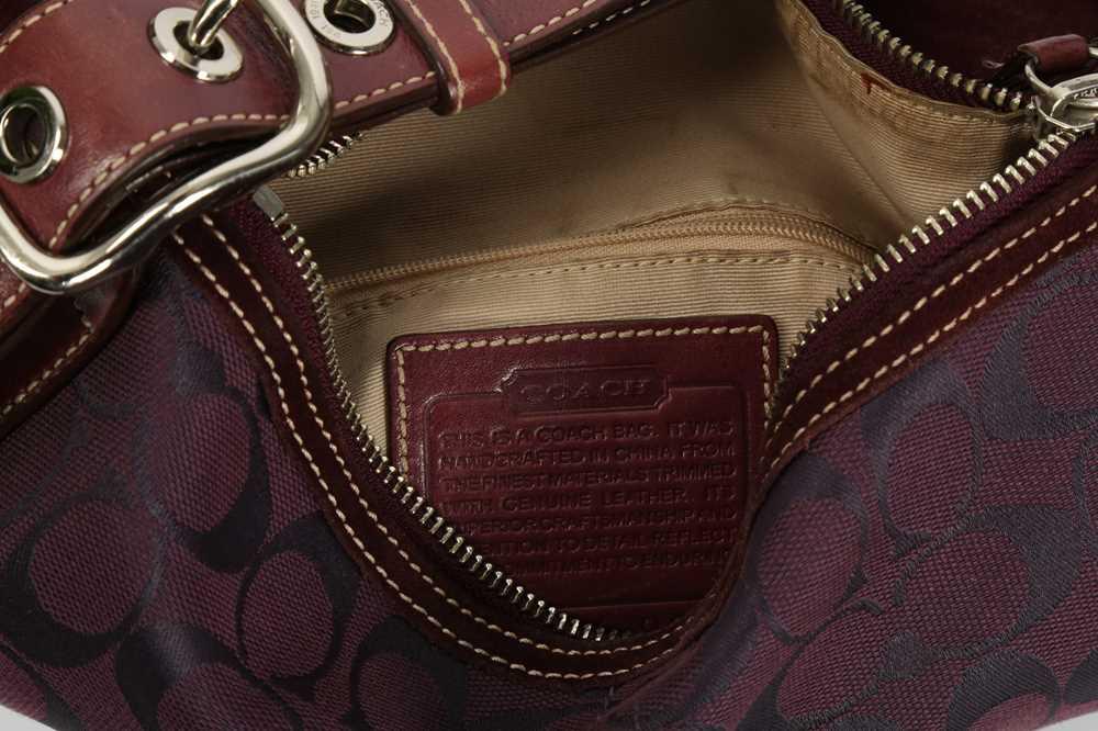 Coach Purple Shoulder Bag and Pollini Black Crossbody Bag - Image 3 of 6