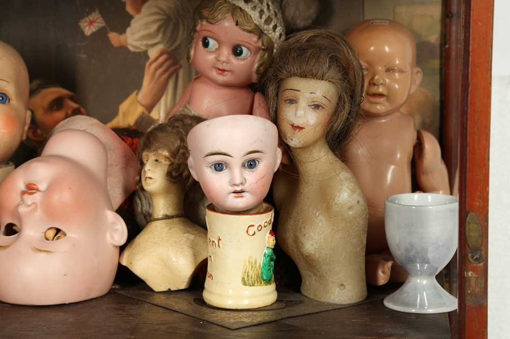 DOLLS: AN ARMAND MARSEILLE 390 BISQUE DOLL HEAD, EARLY 20TH CENTURY - Image 5 of 15