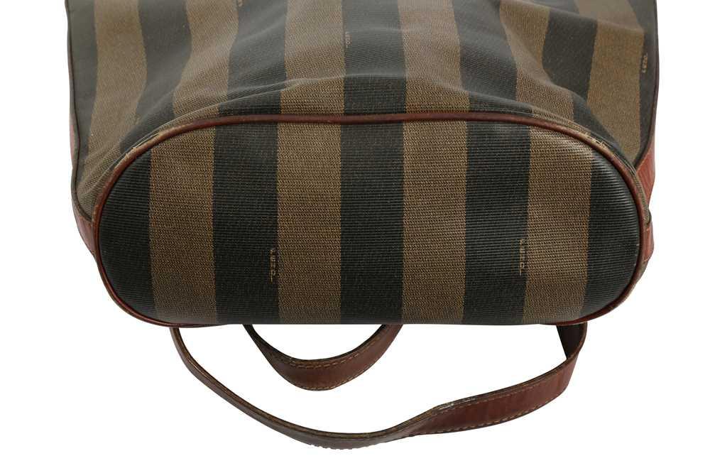 Fendi Vintage Pequin Stripe Bucket Bag - Image 5 of 5