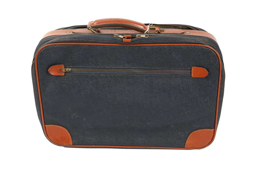 Two Vintage Suitcases Burberry Nova check and Mulberry - Image 7 of 10