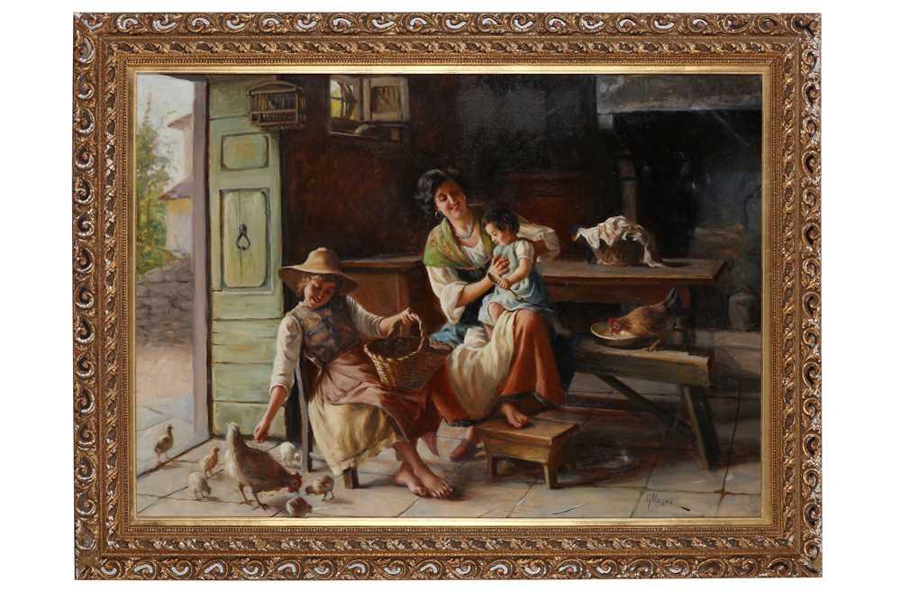 GIUSEPPE MAGNI (ITALIAN 1869-1956)
