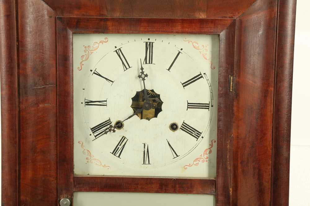CLOCKS: AN AMERICAN WALL CLOCK BY THE ANSON BRASS AND COPPER COMPANY, LATE 19TH/EARLY 20TH CENTURY - Image 2 of 5
