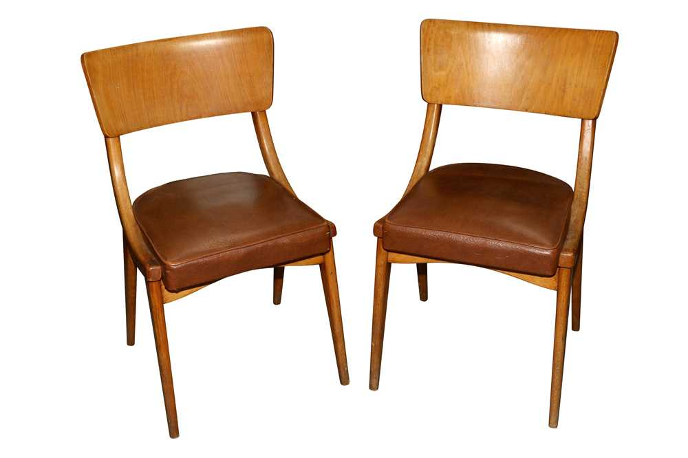 BENCHAIRS OF STOE, TWO PAIRS OF SIDE CHAIRS, CIRCA 1960S - Image 3 of 8