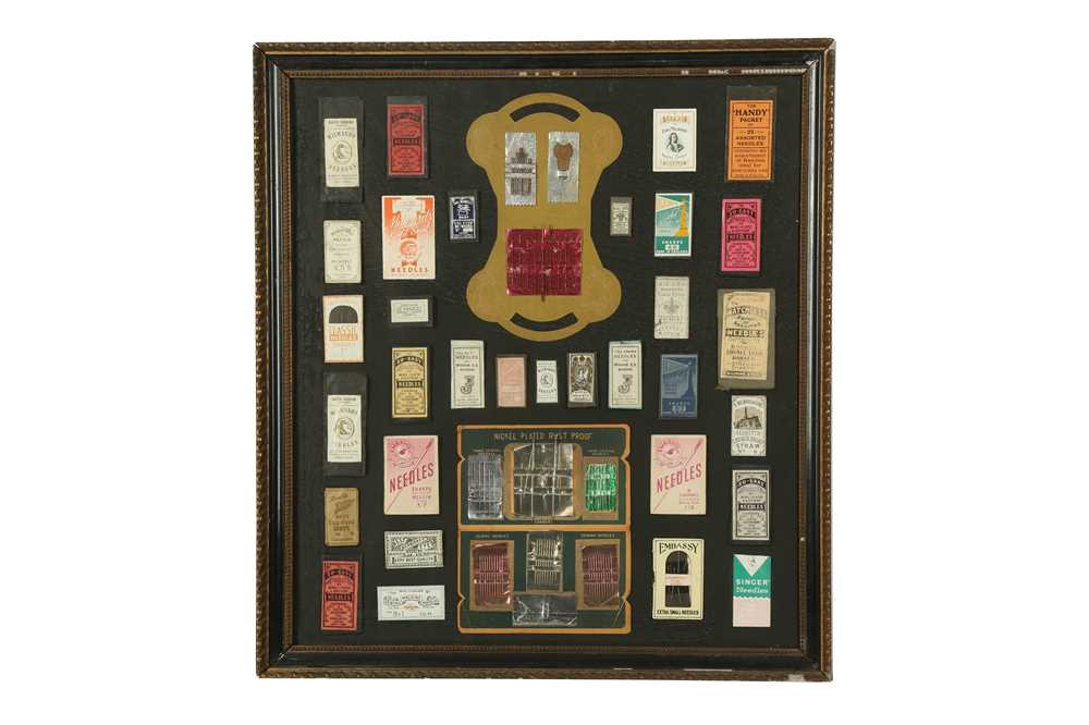 HABERDASHERY: A COLLECTION OF NEEDLES AND PINS, 20TH CENTURY