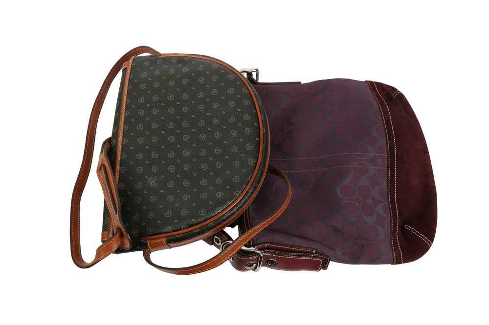 Coach Purple Shoulder Bag and Pollini Black Crossbody Bag - Image 6 of 6