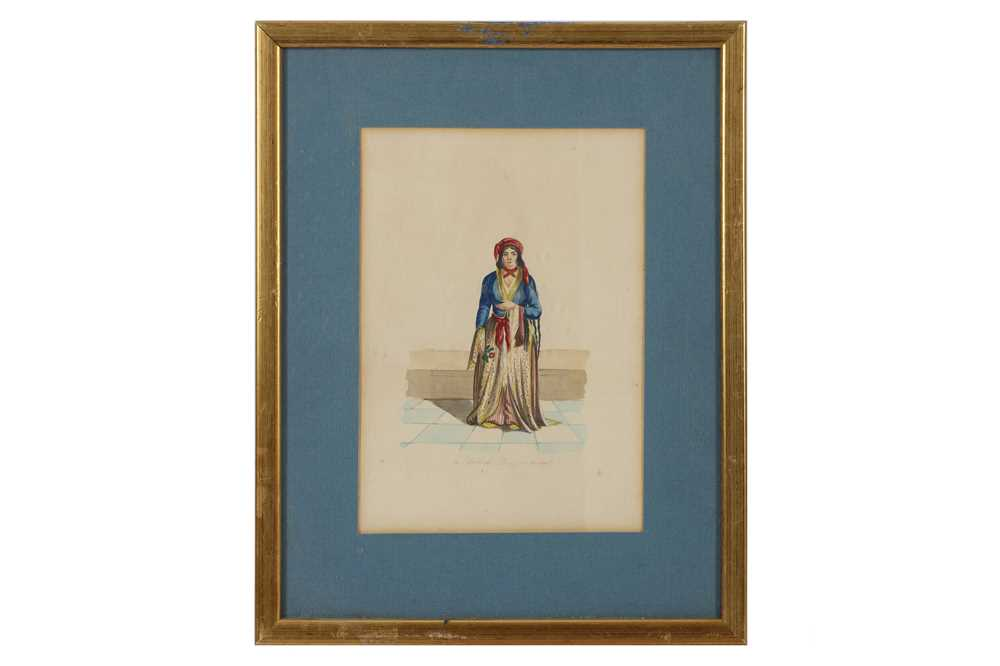 A COLLECTION OF PRINTED AND COLOURED PLATES OF TURKISH WOMEN - Image 2 of 5