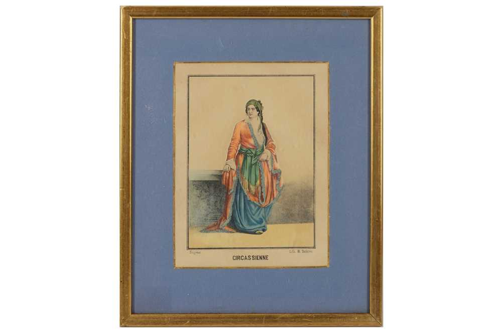 A COLLECTION OF PRINTED AND COLOURED PLATES OF TURKISH WOMEN - Image 5 of 5