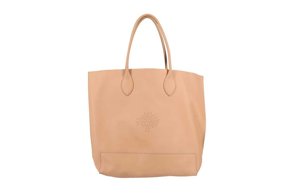 MULBERRY PINK BLOSSOM TOTE BAG