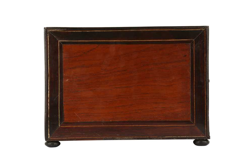 A 17TH CENTURY AND LATER FLEMISH FRUITWOOD, ROSEWOOD AND EBONISED TABLE CABINET - Image 5 of 7