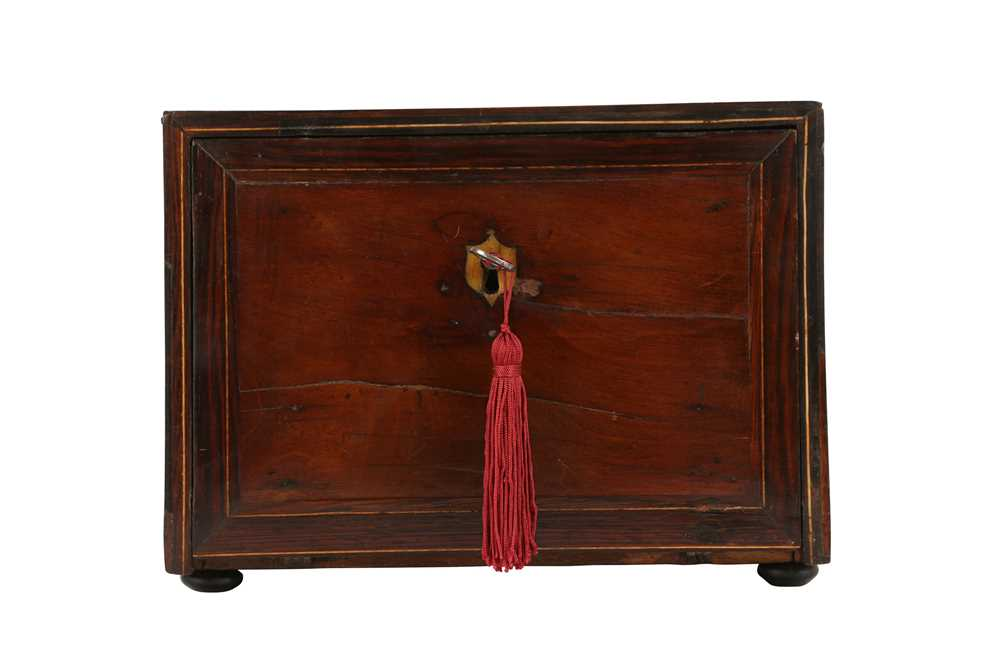 A 17TH CENTURY AND LATER FLEMISH FRUITWOOD, ROSEWOOD AND EBONISED TABLE CABINET - Image 7 of 7