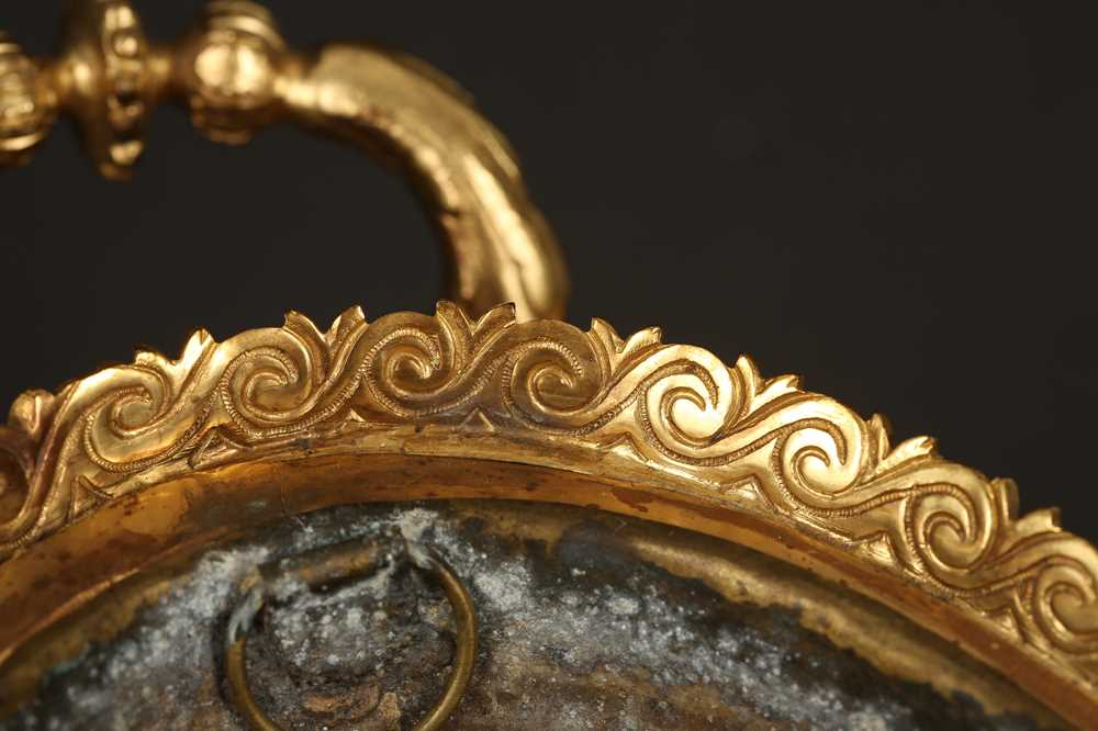AN EARLY 20TH CENTURY HARD STONE AND ORMOLU MOUNTED JARDINIERE - Image 10 of 12