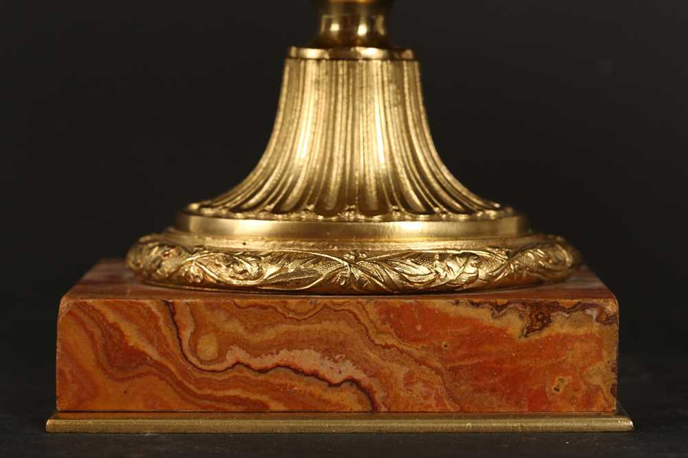 AN EARLY 20TH CENTURY HARD STONE AND ORMOLU MOUNTED JARDINIERE - Image 6 of 12