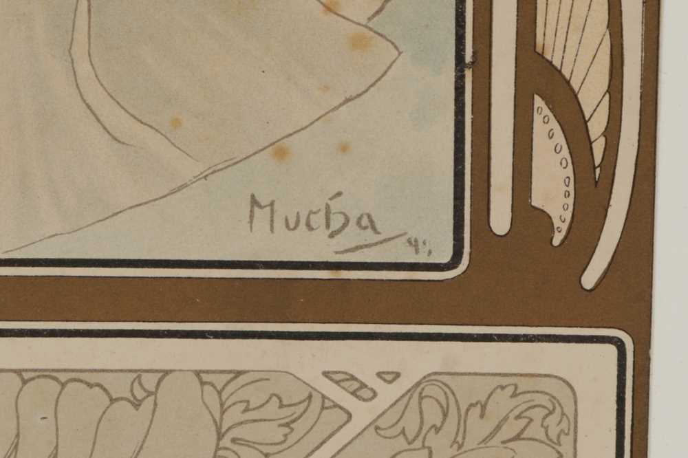 ALPHONSE MUCHA (CZECHOSLOVAKIAN 1860-1939) - Image 3 of 4