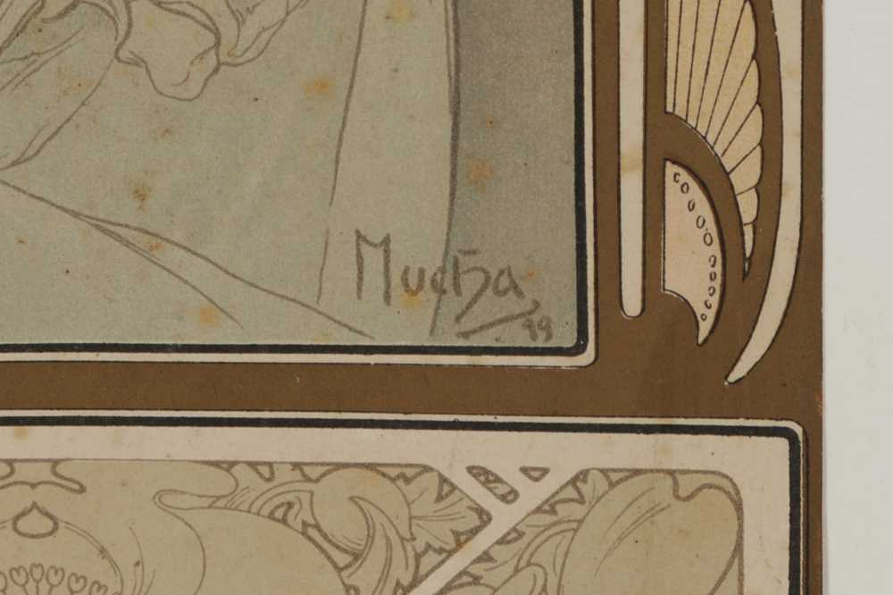 ALPHONSE MUCHA (CZECHOSLOVAKIAN 1860-1939) - Image 2 of 4