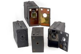 Houghton's Kilto No 7 Wood & Brass Camera & Other Drop Plate Models.