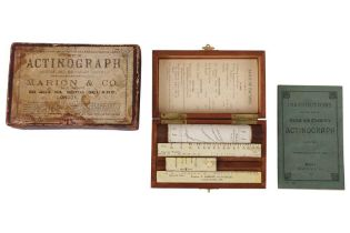 A Hurter & Driffield's Actinograph Exposure Calculator