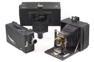 Kodak No 4 Panoram, Model D & Other Cameras.