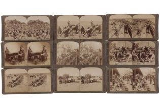 Underwood & Underwood Stereo cards, Second South African War, 1899-1901