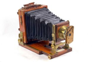 """A Rare, Quarter Plate Lancaster """"Extra Special"""" Instantagraph with See-Saw Shutter."""