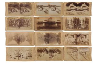 Underwood & Underwood Stereo cards, United States and Mexico, 1889-1893
