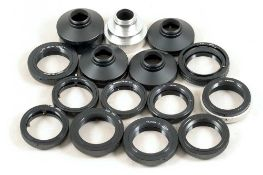 Small Selection of C-Mount & T-Mount Lens Adapters.