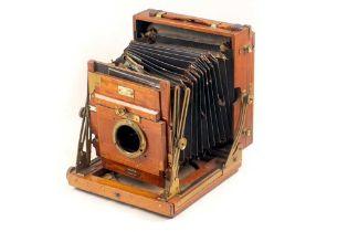 Sanderson Regular Half Plate Camera, for SPARES or REPAIR.