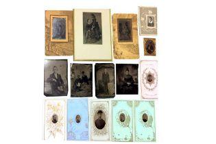 Tintypes, Portraits, c.1860s-1870s