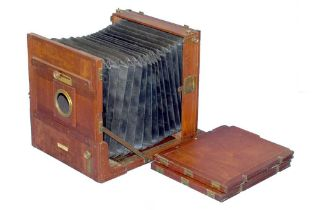 A 12 x 10 Marion & Co Tailboard Camera & 2 DDS.