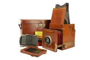 A Kershaw Patent Reflex Tropen Camera