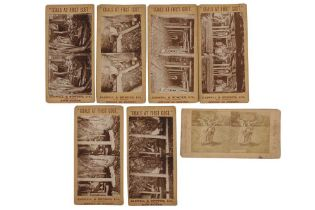 Stereo views, various publishers, c.1862-1900s
