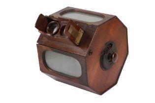 "An Unusual American ""Cadwell"" Stereoscope"