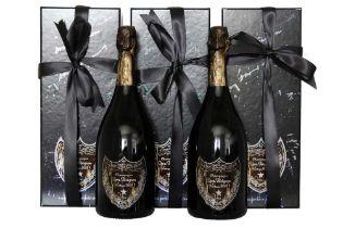 Dom Perignon Creator Edition by David Lynch 2003 5 bottles Dom Perignon Creator Edition by David Lyn