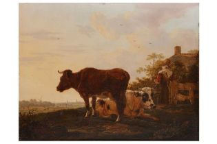 ATTRIBUTED TO JACOB VAN STRIJ (DORDRECHT 1756-1815)