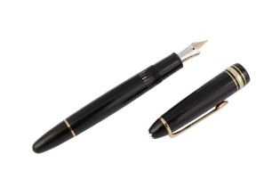 A GERMAN MONTBLANC MEISTERSTUCK FOUNTAIN PEN NUMBERED 146