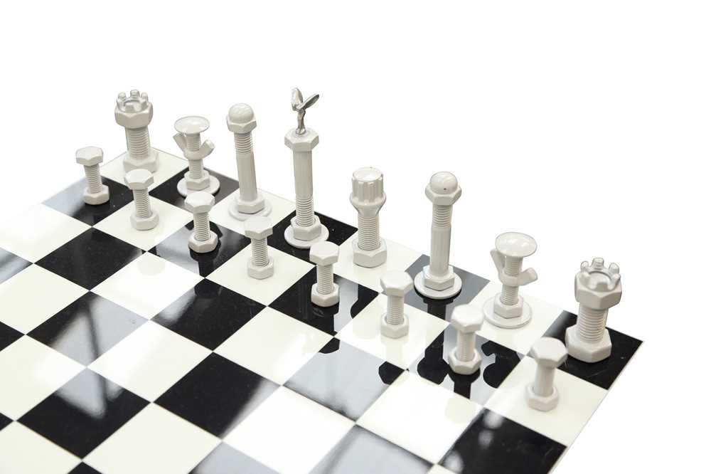 A ROLLS ROYCE AND BENTLEY THEMED CHESS TABLE - Image 3 of 3