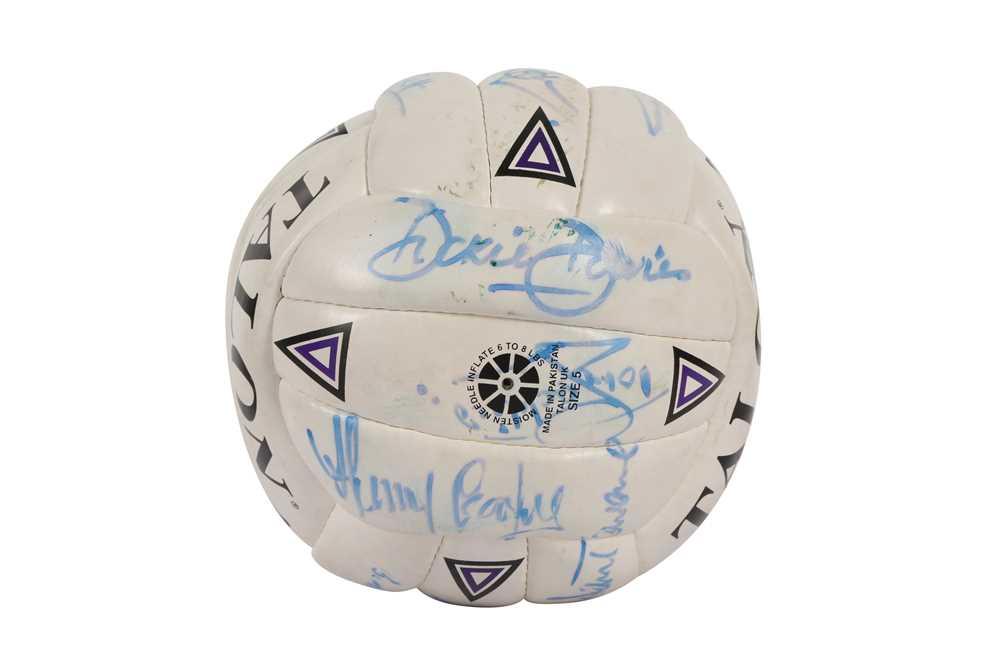 SIGNED FOOTBALL - Image 5 of 6