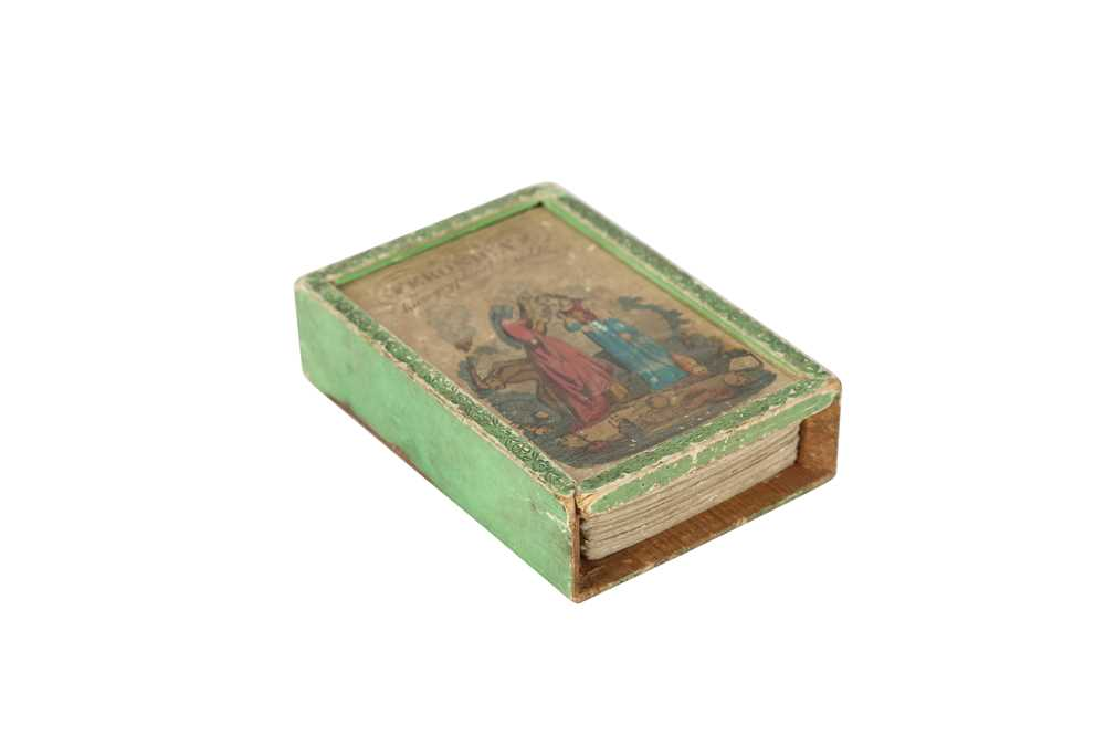 A RARE COMPLETE SET OF GEORGIAN HIEROGRYPHICAL RIDDLE CARDS CIRCA 1800 FERONICA'S HIEROGRYPHICAL RID - Image 6 of 6