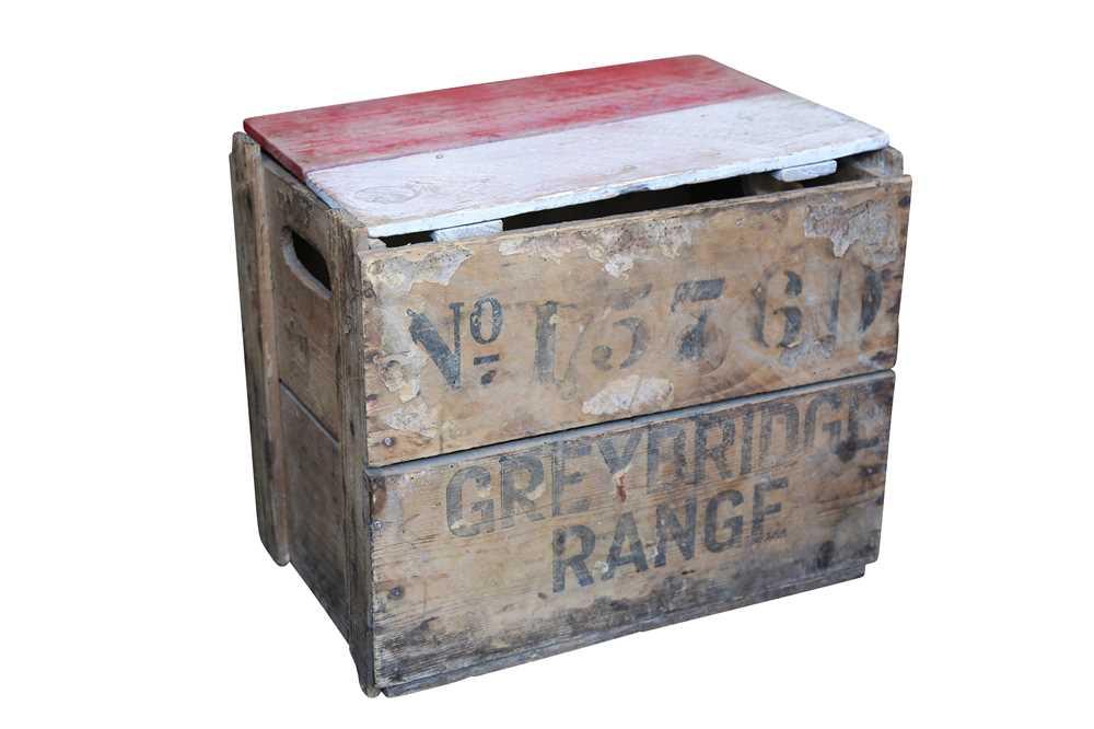 A BOX OF NINE ORIGINAL FAIRGROUND COCONUT SHY BALLS - Image 2 of 3