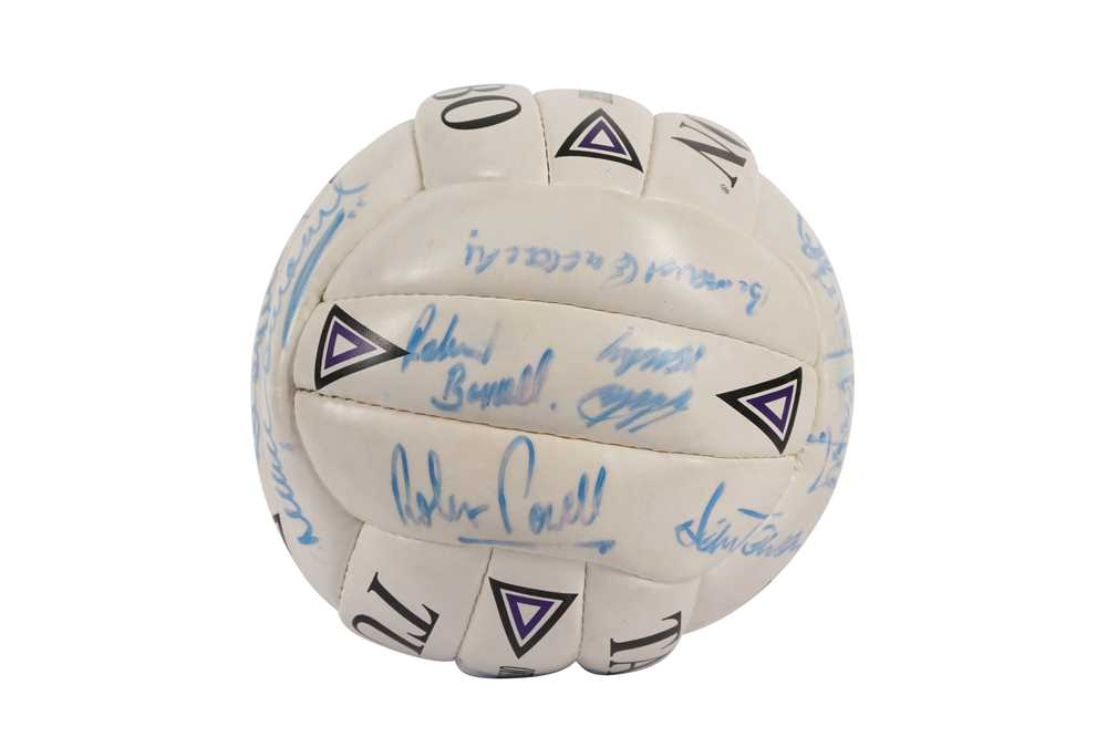 SIGNED FOOTBALL - Image 2 of 6