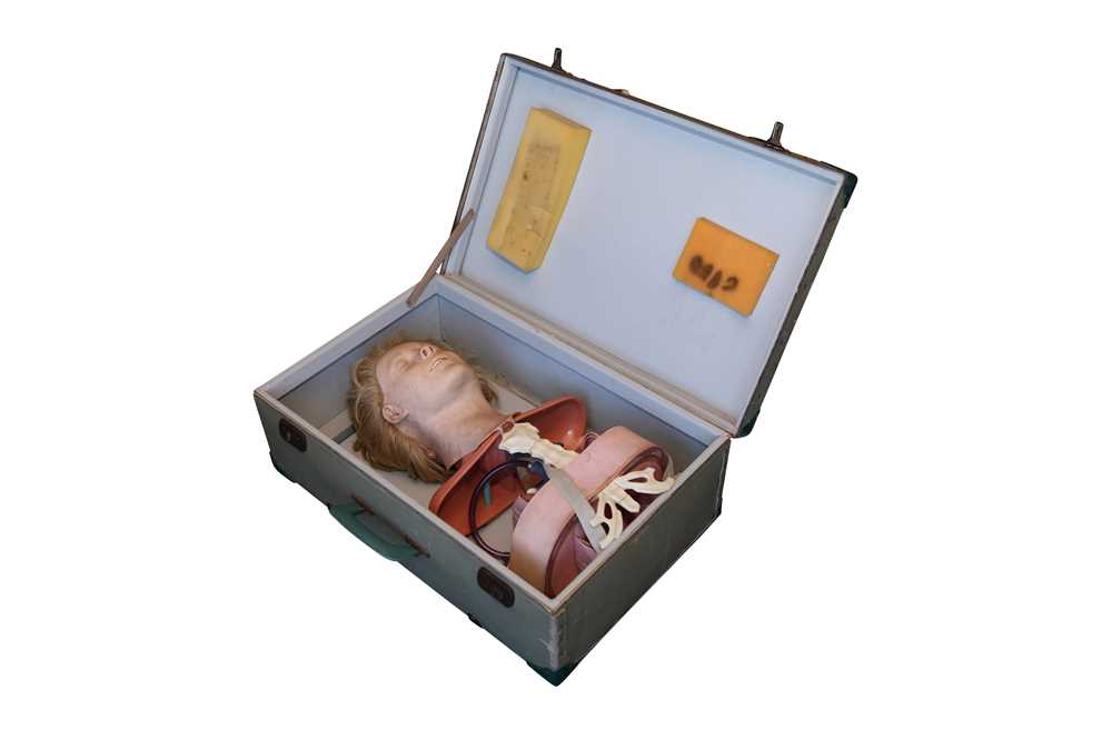 A 1950'S / 60'S CPR TEACHING DOLL 'ANATOMIC ANNE' BY ASMUND S. LAERDAL, NORWAY