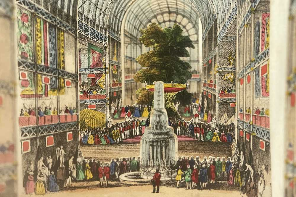 LANE'S TELESCOPIC VIEW OF THE GREAT EXHIBITION, 1851