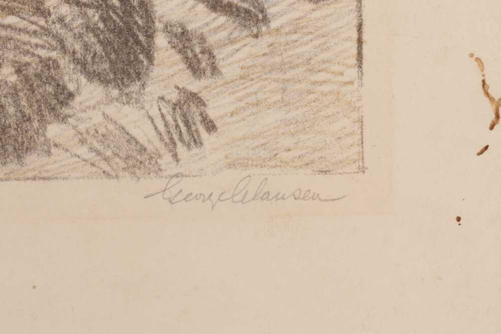 SIR GEORGE CLAUSEN, RA, RWS (BRITISH 1852-1944) - Image 2 of 3