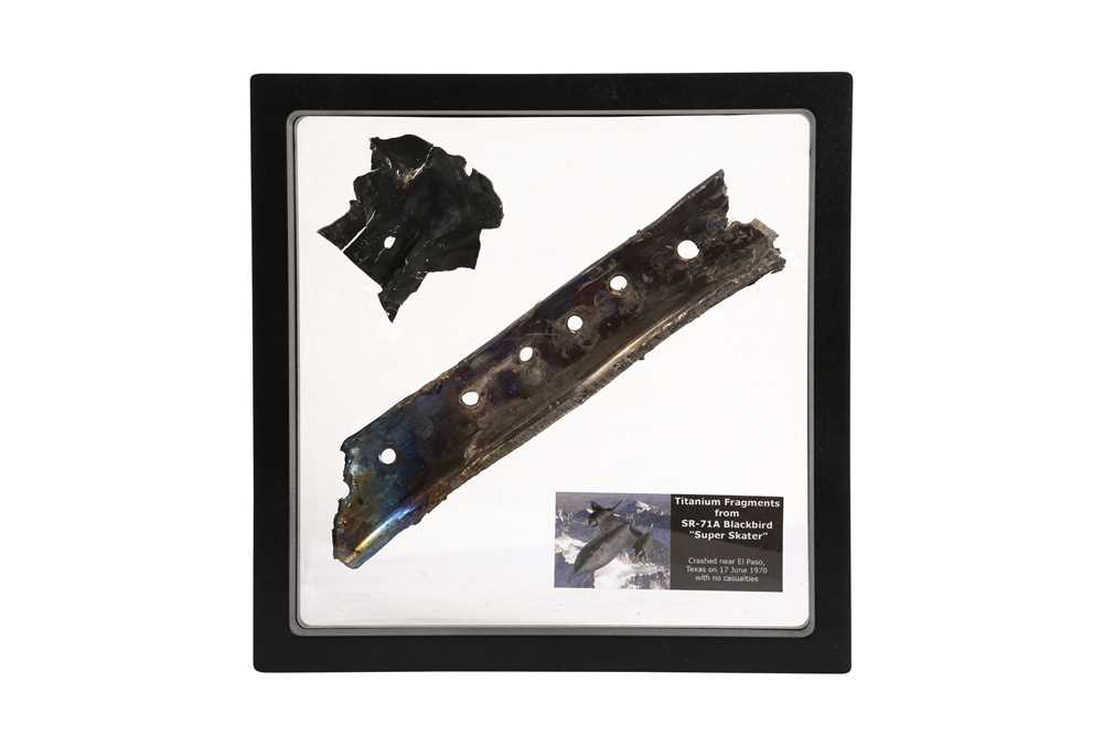 A RELIC FROM A BLACKBIRD SR-71A COLD WAR SPY PLANE - Image 2 of 2