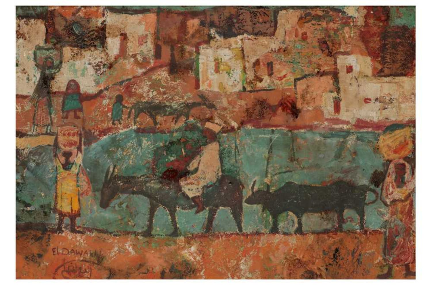 Modern & Contemporary Middle Eastern & North African Art