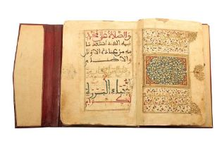 A MOROCCAN DALA'IL AL-KHAYRAT Morocco, North Africa, 18th - 19th century