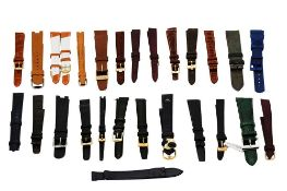 27 BRANDED STRAPS LEATHER.