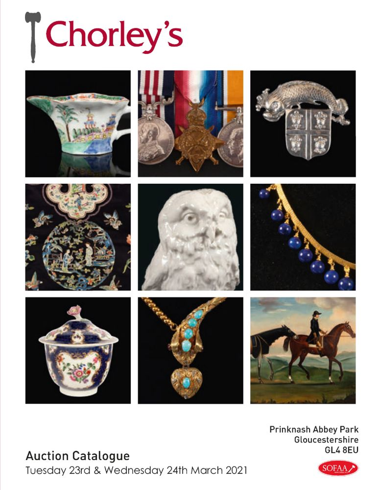 Fine Art & Antiques including Early English Ceramics & a Collection from the Library at Spetchley Park