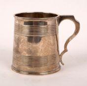 A Victorian silver Christening mug, Edward Ker Reid, London 1862,